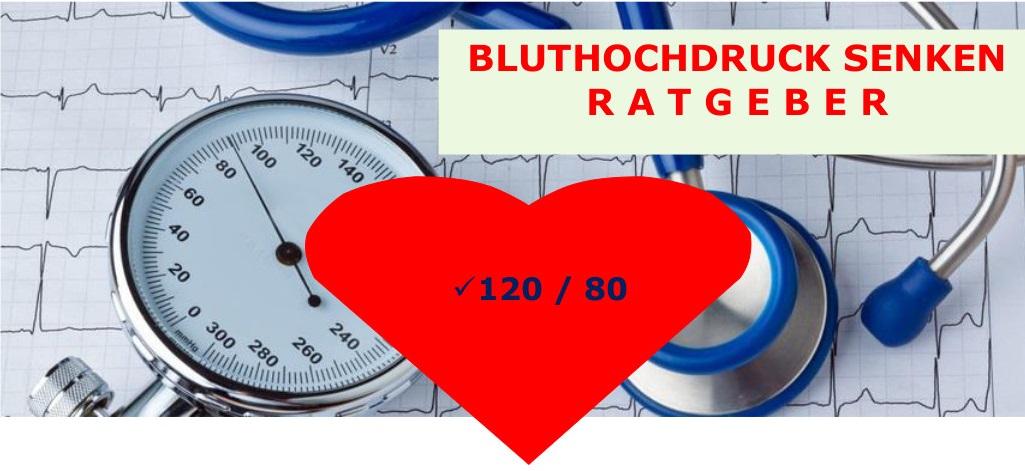 Bluthochdruck senken
